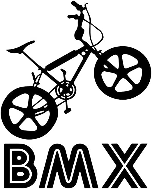 Vosarea vinilo tatuajes de pared BMX Bike Biker Teenage Teen Boy ...