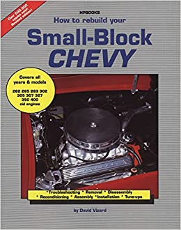 book how to rebuild a small block chevy