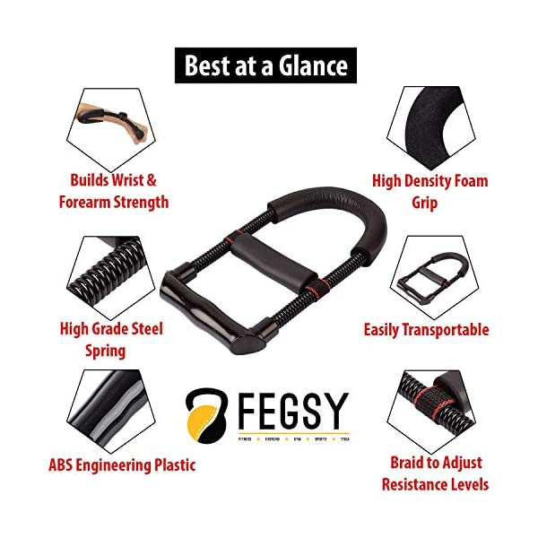 FEGSY-Adjustable-Hand-Gripper-Exerciser-Wrist-Exercise-Equipment-Forearm-Strengthener-for-Men-Women-for-Gym-Workout-Home-Use