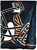 "NFL 40 Yard Dash Micro Raschel Throw, 46"" x 60"""