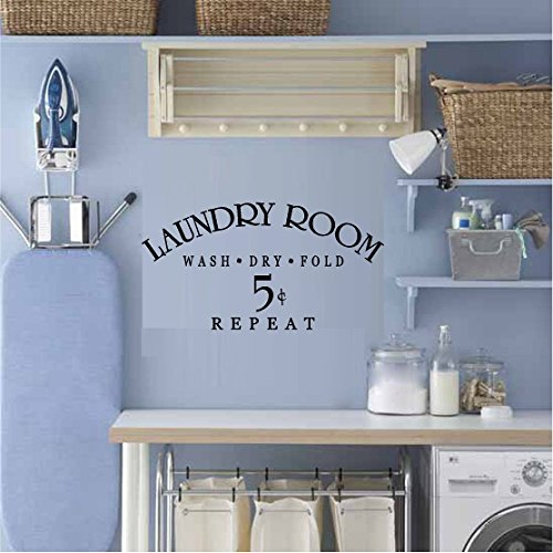 wall decals laundry room - 5