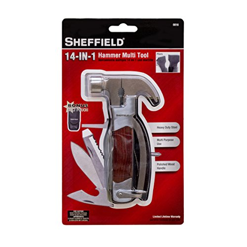 (Sheffield 14-in-1 Hammer Multi Tool)