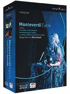 Monteverdi - L'Orfeo, L'Incoronazione di Poppea, Il Ritorno d'Ulisse in Patria, Il Combattimento di Tancredi e Clorinda (Boxset) [Import]