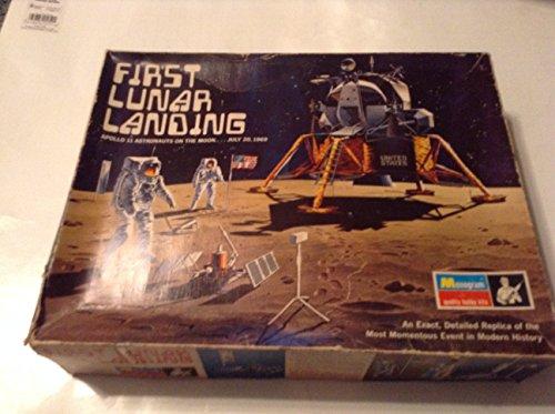 FIRST LUNAR LANDING RARE 1970 MODEL KIT