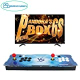 Spmywin Arcade Video Game Console 2020 HD Retro Games Pandoras Box 6S Arcade Machine Newest System 1280x720 Full HD Advanced CPU Support PS3 2 Player Arcade Joystick