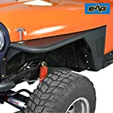82 cj5 fender flares - E-Autogrilles EAG 76-86 Jeep Wrangler CJ Black Textured Off Road Front Fender
