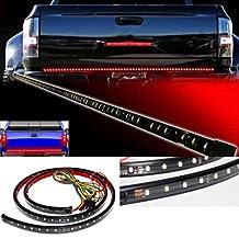 Efitty 49'' Truck SUV Tailgate Light Bar LED Strip Light Bar Red/White Reverse Stop Running Turn Signal