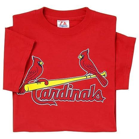 47d4daefc3a Amazon.com   St. Louis Cardinals (ADULT 2X) 100% Cotton Crewneck MLB ...