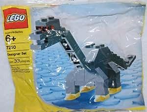 LEGO Creator: Cuello Largo Dinosaurio Establecer 7210 (Bolsas)