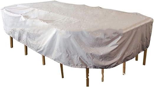 Muebles de jardín Terraza cubierta Mesa de centro A prueba de polvo Protector solar A prueba