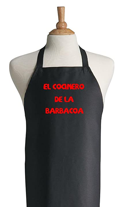 Latino BBQ Apron El Cocinero De La Barbacoa Spanish Grilling Aprons
