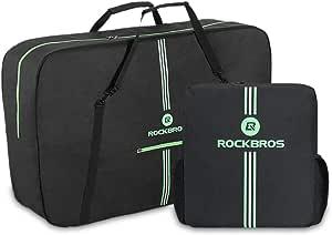 "ROCK BROS Bike Travel Bag Bike Carry case Bicycle Travel case MTB Road Mountain Folding Bike Transport Bag for 19"" Frames, 29"" Wheels Shipping case"