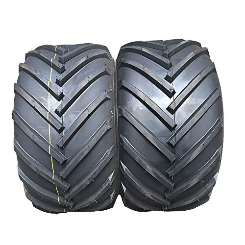 Set Of 2 Turf Bias 18x9.50-8 2PR Turf Tires for Lawn & Garden Mower Tubeless 18-9.5-8 P328 For Garden Lawn Mower Tractor Golf Cart Tires 18/9.5-8