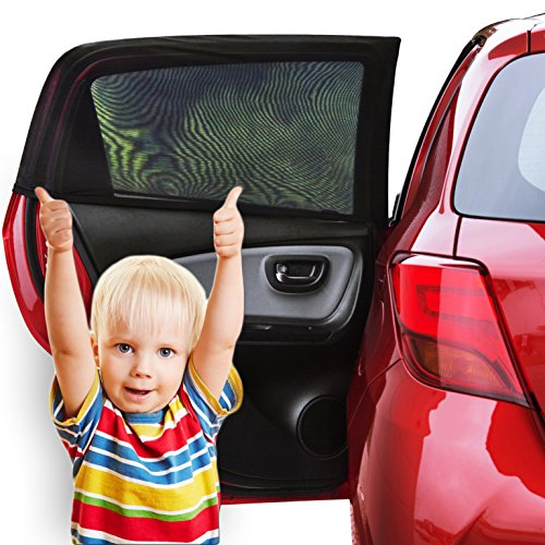 Fast Mile Car Window Shade - 2 Pack