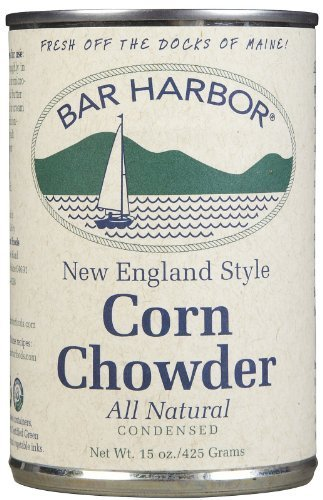 Bar Harbor Corn Chowder Cans- 15 oz, 6 pk