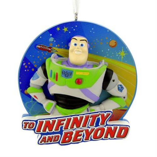 Buzz Lightyear Decor - Disney Toy Story Buzz Lightyear Christmas Ornament Infinity & Beyond