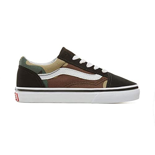 Zapatillas Vans - Old Skool (Woodland Camo) Negro Talla: 27,5: Amazon.es: Zapatos y complementos