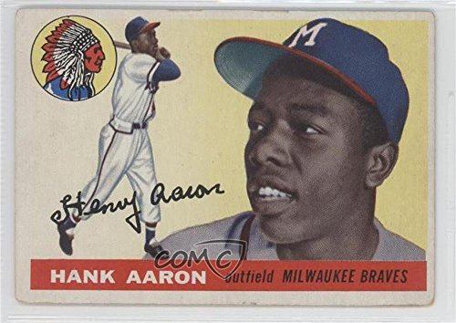 Hank Aaron COMC REVIEWED Good to VG-EX (Baseball Card) 19...