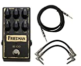 Friedman BE-OD Brown Eye Overdrive Pedal w/ 3 Cables