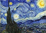 Wentworth Wooden Jigsaw Puzzle The Starry Night