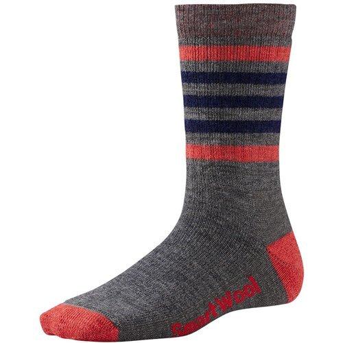 Smartwool Women's Striped Hike Medium Crew Socks Large