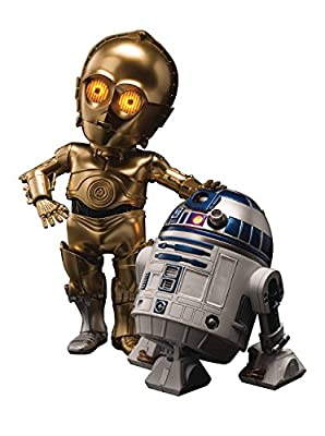 Beast Kingdom Egg Attack Action C-3PO & R2-D2 Action Figure,,