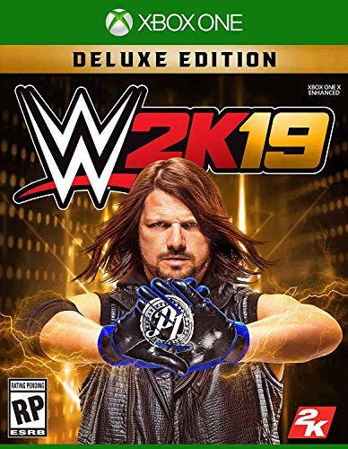 WWE 2K19 Deluxe Edition - Xbox One (Wrestling 2018 Xbox One)