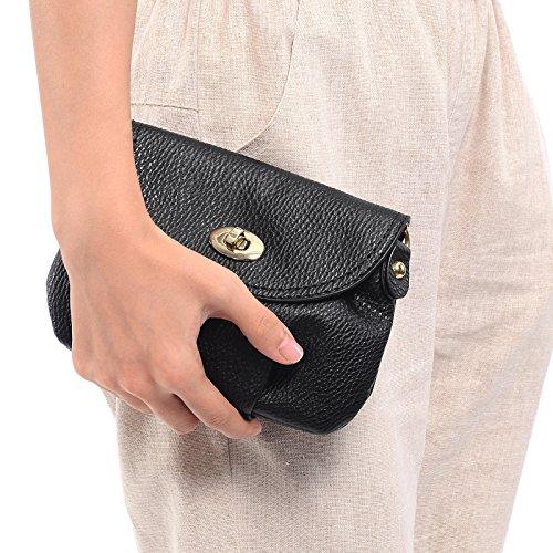 Purse Bag Shoulder SMALL Ladies Black Totes Crossbody Messenger Mini Envelope Handbag nFxPwqH1S6