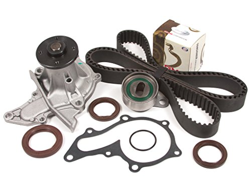 Price comparison product image Evergreen TBK235WPT 93-97 Geo Prizm Toyota Celica Corolla 1.8L 7AFE DOHC Timing Belt Kit Water Pump