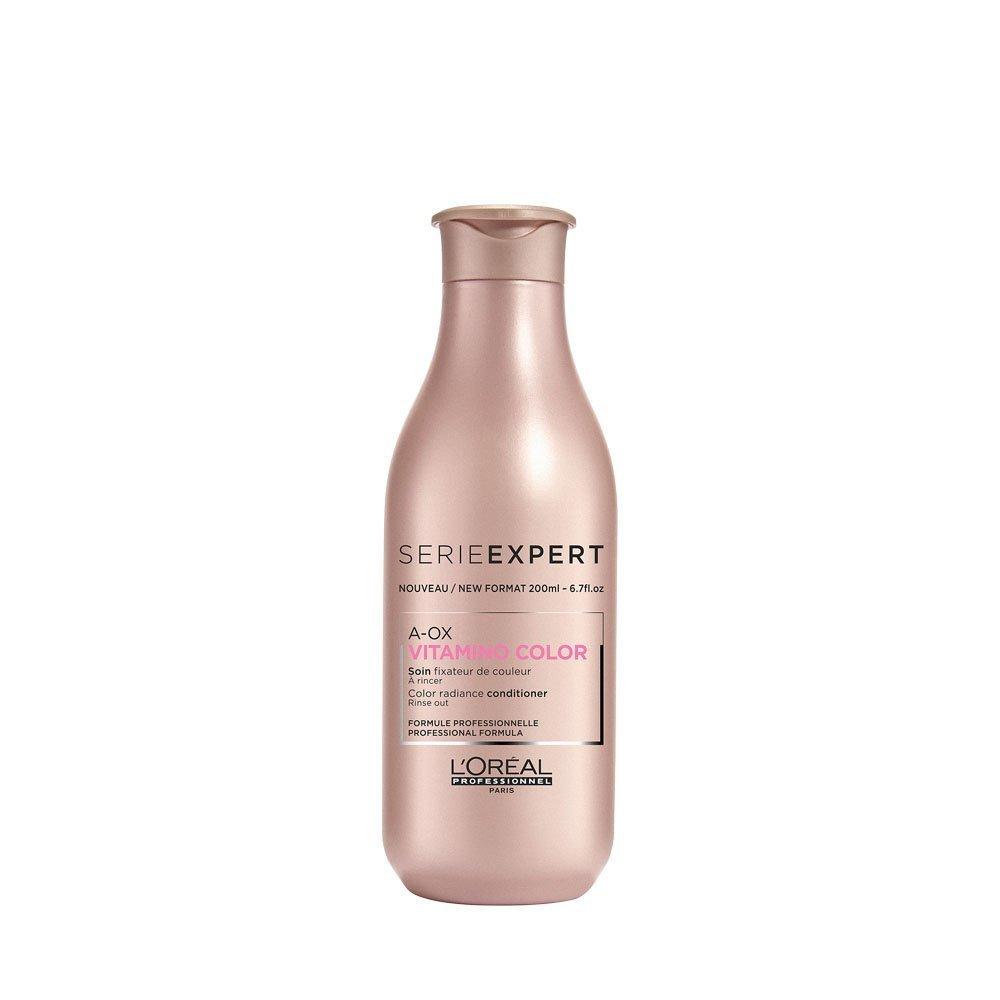 L'Oréal Professionnel Serie Expert Vitamino Color A.OX Conditioner - entwirrt das Haar und verleiht Glanz, 1er Pack (1 x 200 ml) L' Oréal Professionnel E2226100