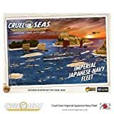 Cruel Seas Imperial Japanese Navy Fleet Starter Set, World War II Naval Battle Game