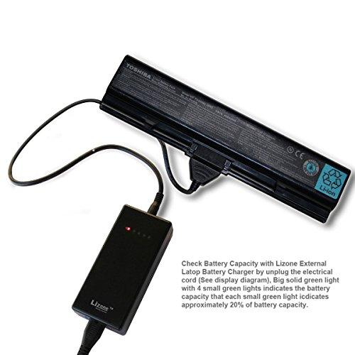 Price comparison product image Lizone External Laptop Battery Charger for Toshiba PA3534U PA3535U PA3634U PA3635 PA5023U PA5024U PA5025U PABAS 117 PA3593U PA3536U PA3537U PABAS 100 PA3730U PA3729U PA3589U PA3609U PA3781U PA3820U PA3821U PA3904U PA3905U... Asus A32-K53 A41-K53 A42-K53... 10.8V or 11.1V 9 Pin External Laptop Battery Charger