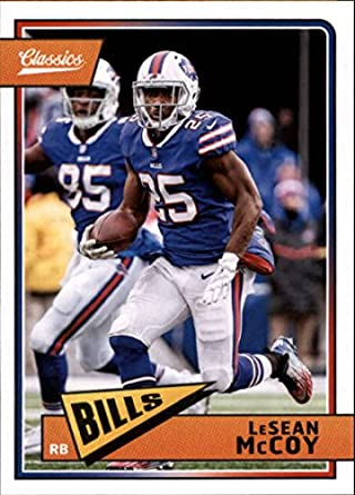1b55cede Amazon.com: 2018 Panini Classics #12 LeSean McCoy Bills Football ...