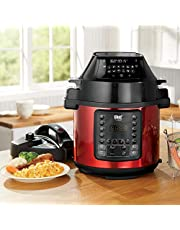 Chef Tested Air Fryer/Pressure Cooker by Wards, Red from Montgomery Ward