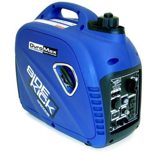 Generators DuroMax XP2000iS Digital Inverter Gas Powered Portable Generator, 2000W