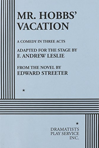 Mr. Hobbs' Vacation by Edward Streeter