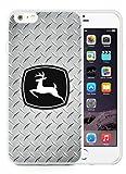 John Deere White Phone Case for 6S Plus Plus 5.5 Inch,iPhone 6 Plus TPU Case