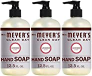 Mrs. Meyer's Clean Day Liquid Hand Soap, Cruelty Free and Biodegradable Formula, Lavender Scent, 12.5 oz-