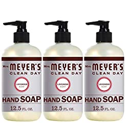 Mrs. Meyer's Clean Day Liquid Hand Soap,...
