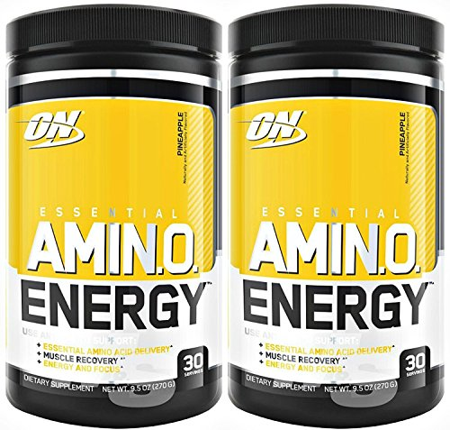 Optimum Nutrition Amino Energy 30 Servings Pineapple (Pack of 2)