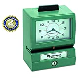 Acroprint 125NR4 Heavy Duty Manual Time Recorder for Month, Date, Hour (1-12) and Minutes Time Clock