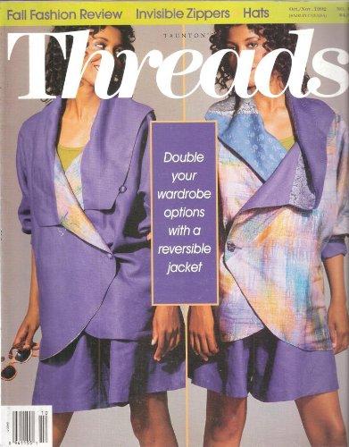 Threads - No. 43,  October / November  1992 (Computerized Knitting Machine)