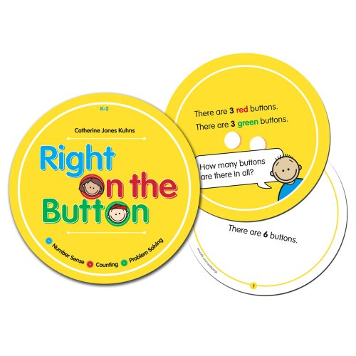 - Crystal Springs Books Right On The Button, Singapore Math (550223)