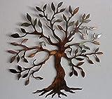 Olive Tree Metal Wall Art