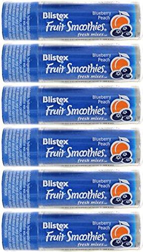 ***LAST ONE*** (6) Blistex Fruit Smoothies ~ Fresh Mixes: Blueberry Peach ~ Lip Moisturizers (Blistex Fruit Smoothies)
