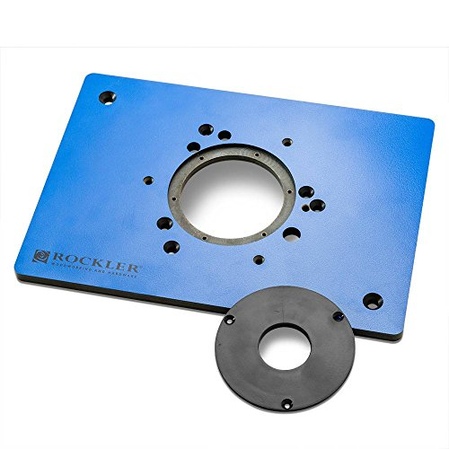 (Rockler Phenolic Router Plate B)