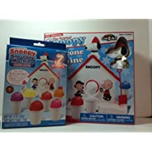 Snoopy Snow Cone Machine and Extra Refill Kit