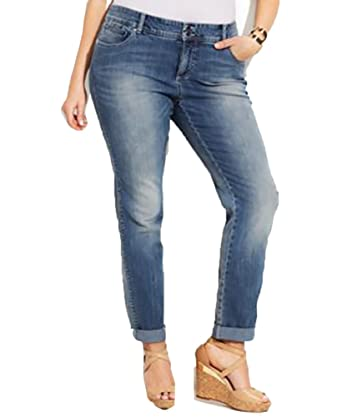 Inc International Concepts Plus Size Straight-Leg Jeans, (24W ...