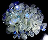 2000CTS. WHOLESALE LOT NATURAL RAINBOW MOONSTONE MIX CABOCHON GEMSTONE