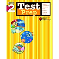 Test Prep: Grade 2 (Flash Kids Harcourt Family Learning)